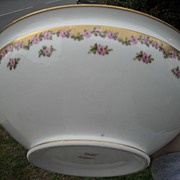 Fabulous Theodore Haviland Limoges France Bowl made for Dulin and Martin Co. Washington, D.C .