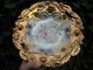 Porcelain German Plate With Extreme Gilt and Gorgeous Decoration