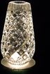Gorgeous Waterford Vase With Diamond Shapes Pattern 7.25 inches high, 2.25 inch opening