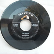 "Elvis Presley - RCA Label- ""Blue Moon"", ""Just Because"""
