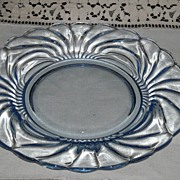 6 Caprice Cambridge 8 1/2 Inch Blue Luncheon Plates~Beautiful
