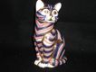 Royal Crown Derby~Imari~Ginger Tom Paperweight ~Tabby Cat-Beautiful And So Collectible- 5 1/4 Inches High