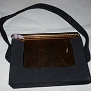 Volupte Swinglok Sophisticase Vanity Case~Compact~Original Paper~Looks Never Used