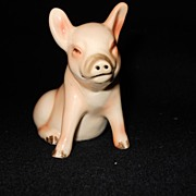 Goebel Pig Figure Pinkish Piglet Like Porcelain~Reminds Me Of Spring