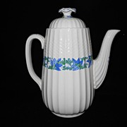 Coffee Pot- Valencia - Copley Spode-Porcelain