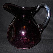 Cambridge Amethyst Pitcher To Make Your Holiday Table Oh So Elegant
