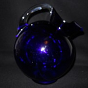 Cambridge Royal Blue Ball Pitcher #3400/114 -64 OZ Royal Blue
