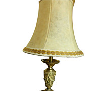SOLD French Vintage Napoleon III style Lamp