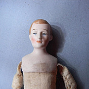 China head with rarer hairdo in small size (issues)