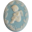 Pretty Wedgwood Pin, Christmas Angel
