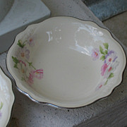 "SALE Homer Laughlin ""Virginia Rose"" Berry Bowls~~Set of Four"
