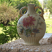 SOLD Victoria Carlsbad Austria Porcelain Pillow Vase