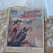Penny Novel The Original Buffalo Bill Library Aldine Series No. 612~Circa Early 1920's