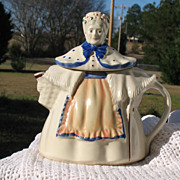 SOLD Vintage Pottery &quot;Character&quot; Grandma Teapot~Very Nice