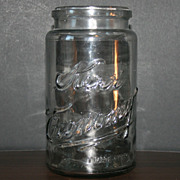 Karr Glass Mason Jars Patent 1903 San Springs OK
