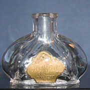 Vintage Babbitt of Philadelphia, PA Fleur de Nuit Perfume Bottle with Label