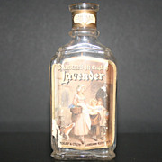 Vintage Perfume Bottle Old English Lavender Yardley London