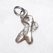 Ballet Slipper Charm With Bee Hallmark