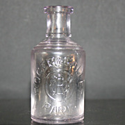 Roger & Gallet's Paris Early Perfume Bottle