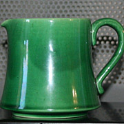 Dark Green Vintage creamer / pitcher