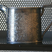 Late 1800s Derby Silver Plate creamer / pitcher
