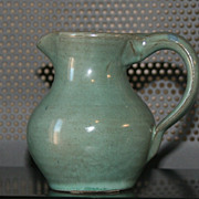 SALE Vintage Pitcher Sands Pottery Boulder City 1950s