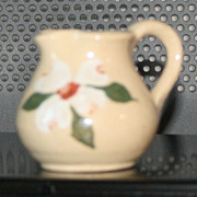 Vintage Tennessee Dogwood Blossom Yellow Miniature Pitcher