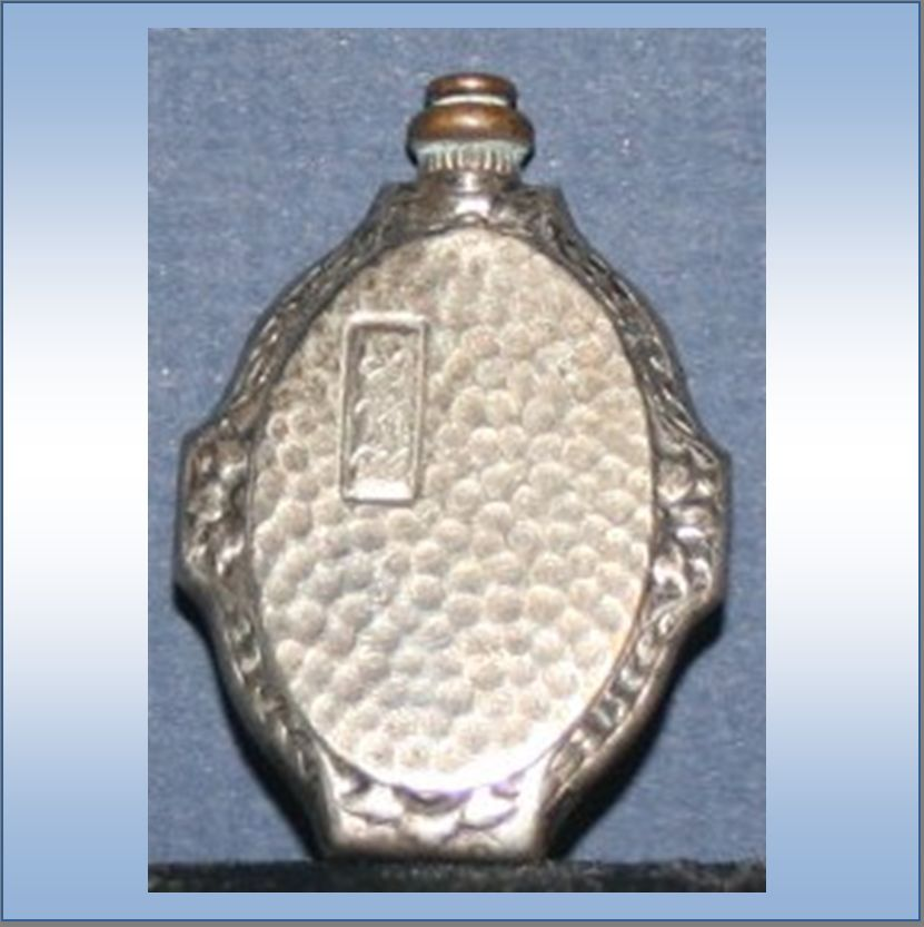 Vintage Sterling Silver Miniature Perfume Bottle