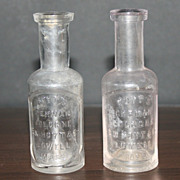 2 Hoyts Bottles Genuine German Cologne 25