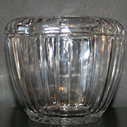 SALE Vintage Lidded Glass Candy Dish