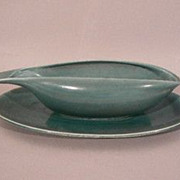 Russel Wright American art pottery Seafoam green Steubenville gravy boat pitcher