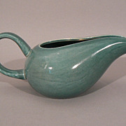 Russel Wright American art pottery Seafoam green Steubenville creamer