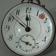 Antique Magnifying Glass ROUND Ball Clock