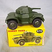 Dinky Toys No. 670 Armoured Car & Original Box