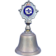 Union Castle SS Orsova Castle Liner Nautical Table Bell c1960