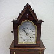 Regency Rosewood 8-day Fusee Clock By Barwise, London c.1815