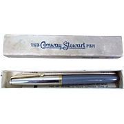 Vintage Conway Stewart 67 &quot;Pressac&quot; Pen 14ct Gold Nib