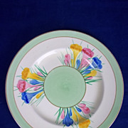 Clarice Cliff Royal Staffordshire &quot;Crocus&quot; Side Plate