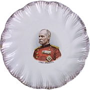 Boer War Commemorative Plate Of  Lord Roberts C1900