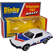 Dinky Toys No. 207 Triumph TR7 Rally, Boxed 1977-80
