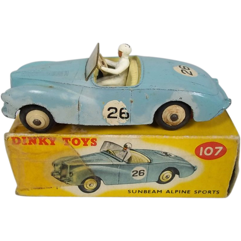 dinky toys case study No 2337: frank hornby take the case of frank hornby: started yet another industry: a series of scale model cars -- the so-called dinky toys.