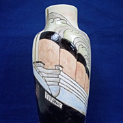 Burslem Pottery Vase in Titanic Design, Limited Edition (3/50)