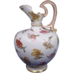 A Late 19th Century Royal Worcester Ivory Porcelain Jug No. 1227