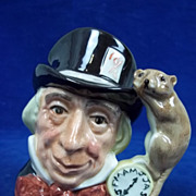 Royal Doulton Small Character Jug: D6602 Mad Hatter