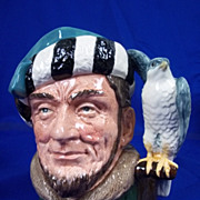 Royal Doulton Character Jug &quot;The Falconer&quot; D6533