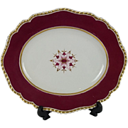 Early 19th Century Meat Plate/Tazza