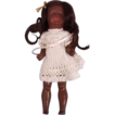 SFBJ French Made Black Bisque Doll c1910