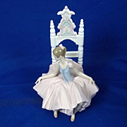 "Lladro Limited Edition ""Ballet Arreglandose La Falda/After The Show"", # 06484 Boxed"