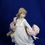 Lladro Spanish Porcelain Figurine Of The 'Spring Splender' No.  5898, Boxed