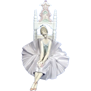 "Lladro Limited Editio "" Ballet Descansando / Posing For A Portrait "", # 06486 Boxed"